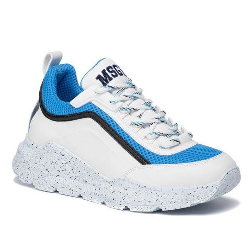 Sneakersy MSGM - College Hiking Trainers 2741MDS211 726 88 Biały