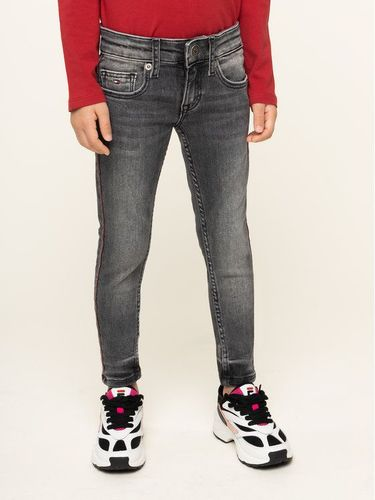 Tommy Hilfiger Jeansy Faded KG0KG04522 M Szary Skinny Fit