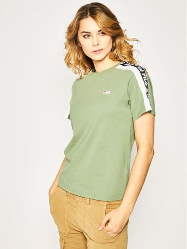 Fila T-Shirt Tandy Tee 687686 Zielony Regular Fit