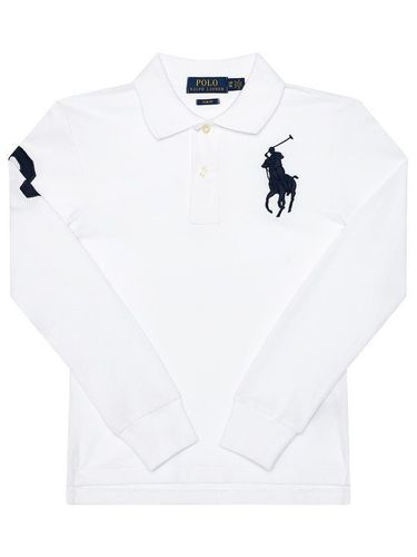 Polo Ralph Lauren Polo 323708862025 Biały Slim Fit