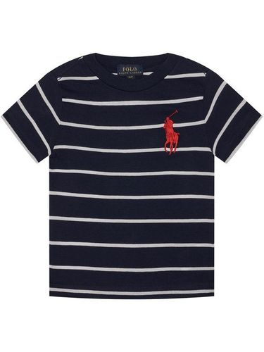 Polo Ralph Lauren T-Shirt Summer I 323786411003 Granatowy Regular Fit
