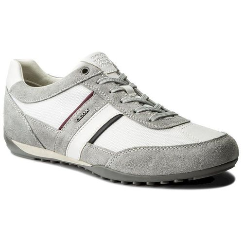 Sneakersy GEOX - U Wells C U52T5C 02211 C1303 Lt Grey/White
