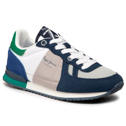 Sneakersy PEPE JEANS - Sydney Basic Boy PBS30486 Navy 595