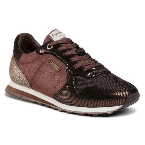 Sneakersy PEPE JEANS - Verona W Top PLS31037 Dark Mocca 887