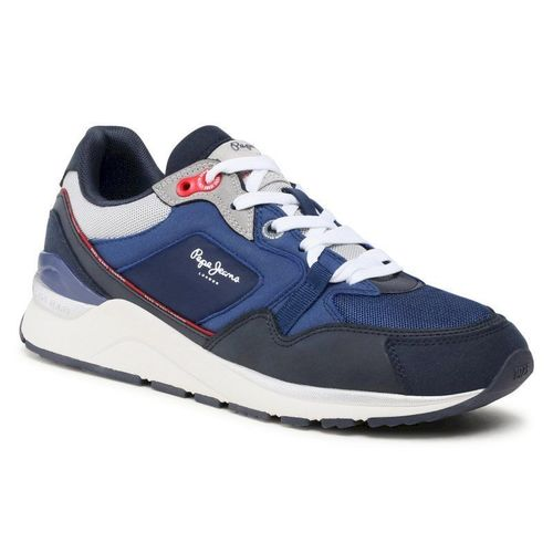 Sneakersy PEPE JEANS - X20 Monochrome PMS30736 Navy 595