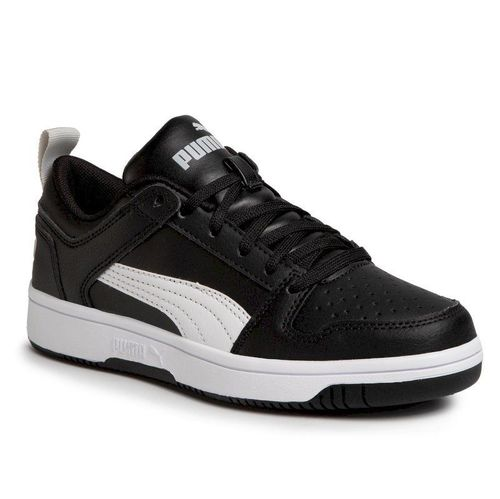 Sneakersy PUMA - Rebound Layup Lo Sl Jr 370490 02 Puma Black/White/High Rise