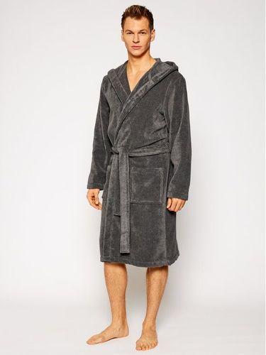 Tommy Hilfiger Szlafrok Icon Hooded Bathrobe 2S87905573 Szary