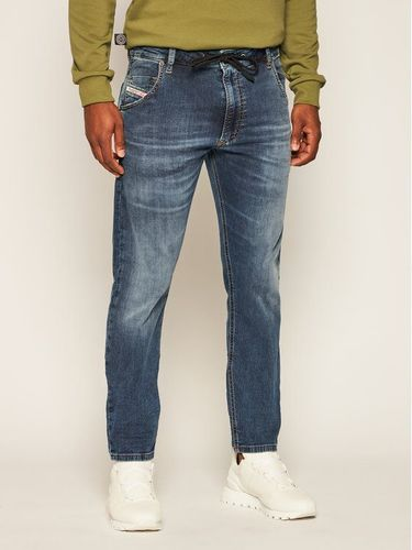 Diesel Jeansy Tapered Fit Krooley A00879 069NL Granatowy Tapered Fit