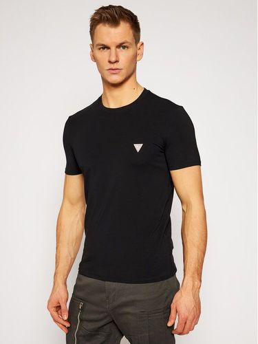 Guess T-Shirt M1RI24 J1311 Czarny Super Slim Fit