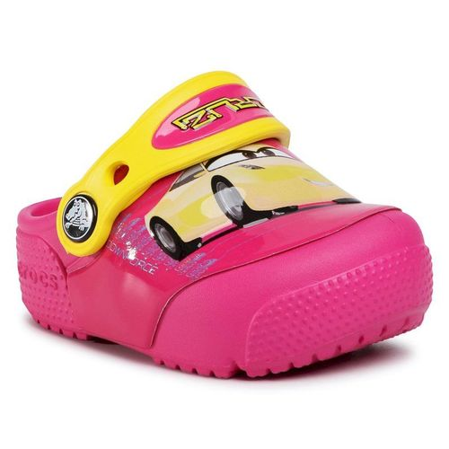 Klapki CROCS - Crocsfunlab Lights 204138 Candy Pink