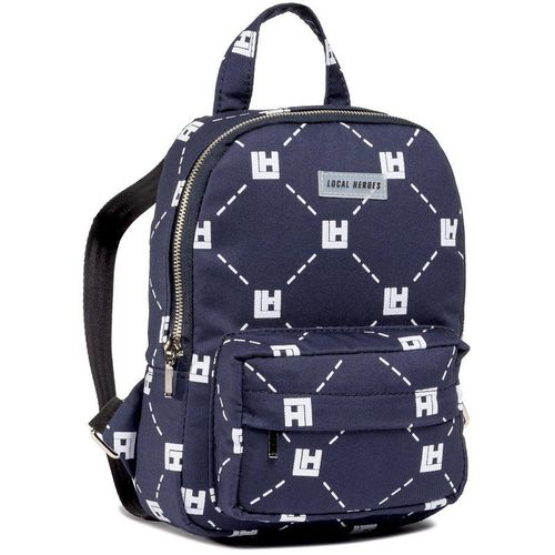 Plecak LOCAL HEROES - Monogram Mini Backpack AW2021BAG014 Navy Blue