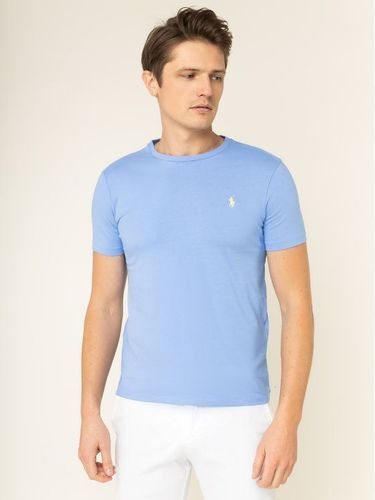 Polo Ralph Lauren T-Shirt 710671438 Niebieski Custom Slim Fit
