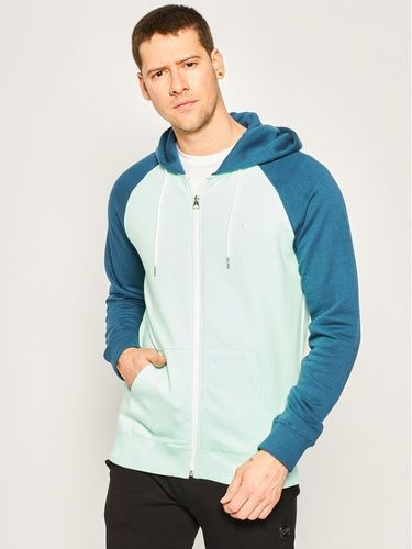 Quiksilver Bluza Everyday Zip-Up Hoodie EQYFT04138 Zielony Regular Fit