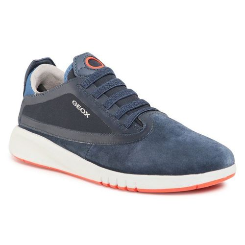 Sneakersy GEOX - J Aeranter B. B J04BNB 02211 C4218 D Navy/Dk Orange