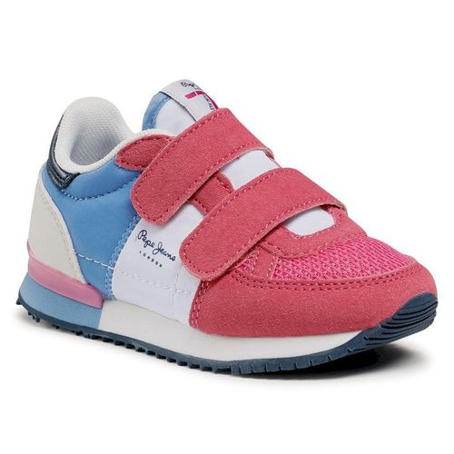 Sneakersy PEPE JEANS - Sydney Basic Girl PGS30501 Fuchsia 357