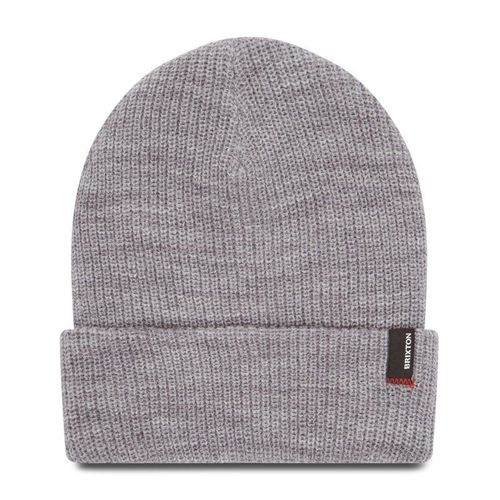 Czapka BRIXTON - Heist Beanie 10782 Light Heather Grey
