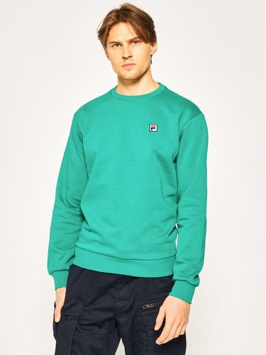 Fila Bluza Hector Crew 687457 Zielony Regular Fit