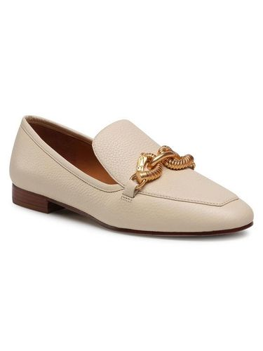 Tory Burch Lordsy Jessa 20mm Loafer 60801 Beżowy