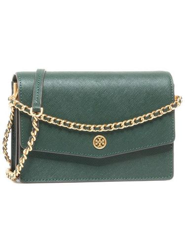 Tory Burch Torebka Robinson Mini Shoulder Bag 75247 Zielony