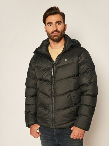 G-Star Raw Kurtka puchowa Whistler Hdd Puffer D14010-B958-995 Zielony Regular Fit
