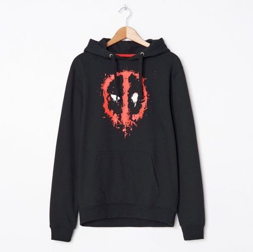House - Bluza z kapturem Deadpool - Czarny