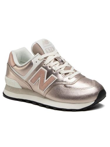 New Balance Sneakersy WL574PM2 Złoty