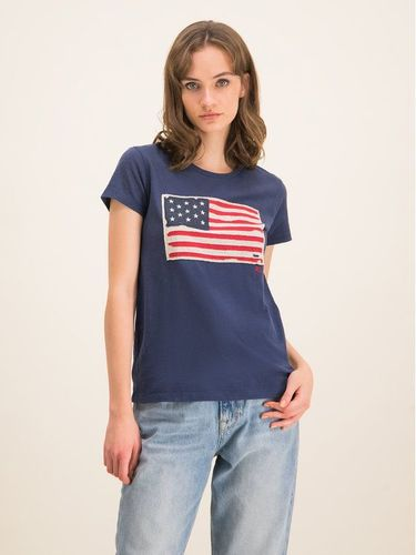Polo Ralph Lauren T-Shirt 211663124 Granatowy Regular Fit