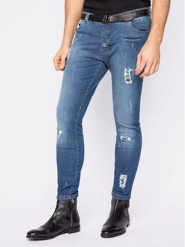 Rage Age Jeansy Regular Fit Rageshow 2 Granatowy Slim Fit