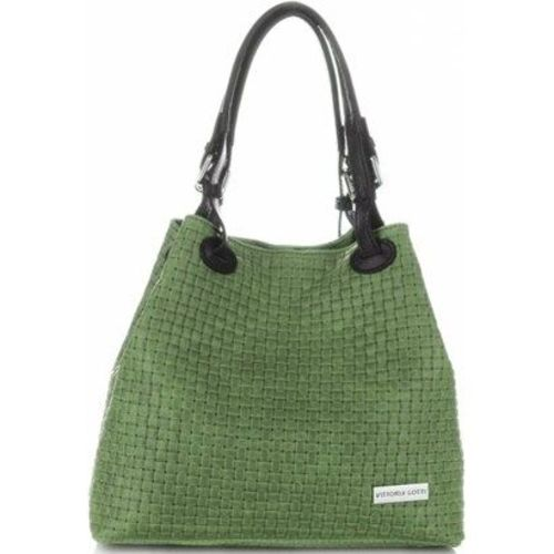 Shopper bag Vittoria Gotti zielony
