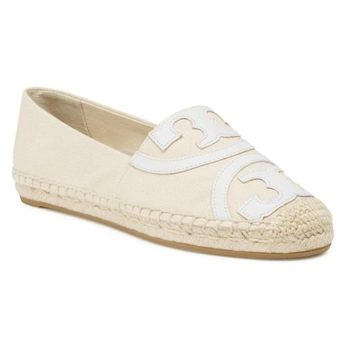 Espadryle TORY BURCH - Poppy Espadrille 74032 Cream 176