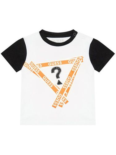 Guess T-Shirt I1RI00 K8HM0 Biały Regular Fit