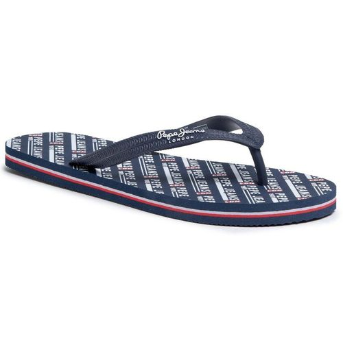 Japonki PEPE JEANS - Swimming All Over PMS70090 Navy 595