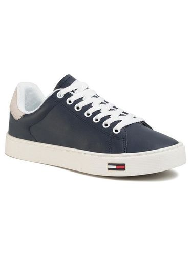 Tommy Jeans Sneakersy Essential Tommy Jeans Sneaker EM0EM00274 Granatowy