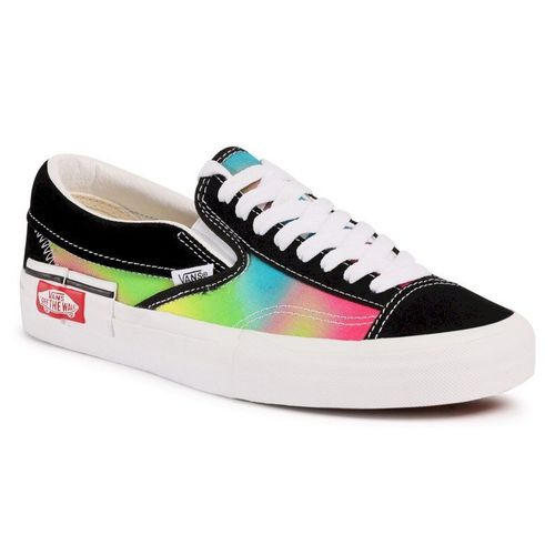 Tenisówki VANS - Slip-On Cap VN0A3WM52191 (Miami Nights) Blkmlttrwht