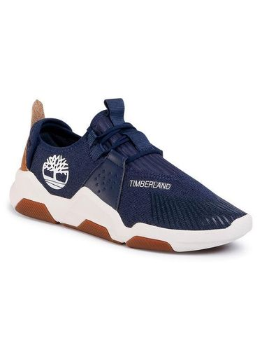 Timberland Sneakersy Earth Rally Flexiknit Ox TB0A2D5M0191 Granatowy