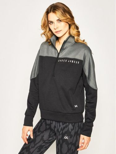 Under Armour Bluza Ua Recover Knit ½ Zip 1351898 Czarny Loose Fit