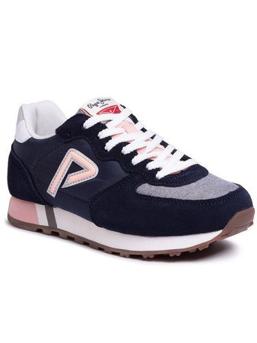 Pepe Jeans Sneakersy Klein Archive PGS30426 Granatowy