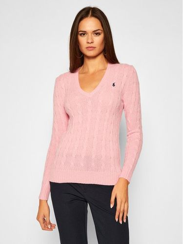 Polo Ralph Lauren Sweter Kimberly Wool/Cashmere 211508656065 Różowy Regular Fit
