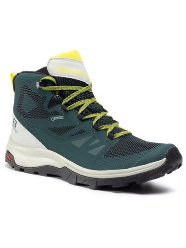 Salomon Trekkingi Outline Mid Gtx GORE-TEX 409964 27 V0 Zielony