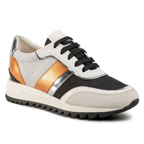 Sneakersy GEOX - D Tabelya A D02AQA 02211 C1351 Off White/Black