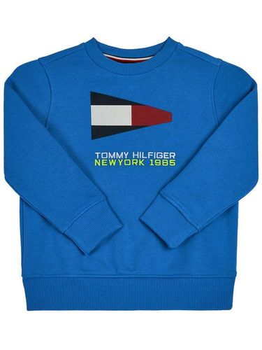 Tommy Hilfiger Bluza Sailing Flag Graphic KB0KB05650 D Niebieski Regular Fit